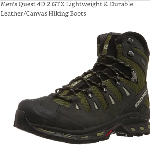 e6a58c7fcfe Men's Salomon Gore-Tex hiking boots 12
